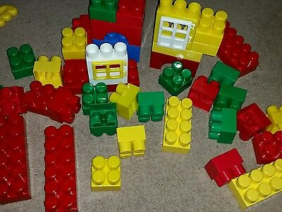 Very big Baby bricks, easy to handle for little hands