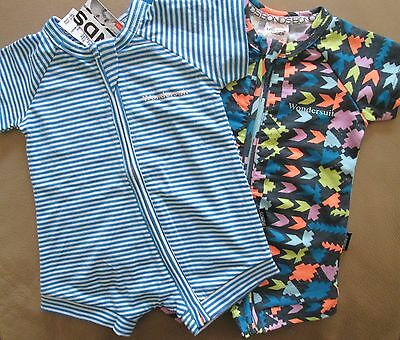 BONDS Baby Boys Onesie Infant Romper Twin Two Pack Wondersuit Blue Size 000 NEW
