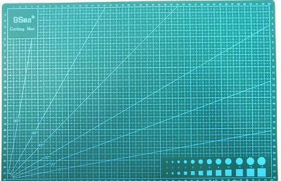 A3 Size Self Healing Cutting Mat 2 Side Print For Quilting Scrapbooking 45*30CM