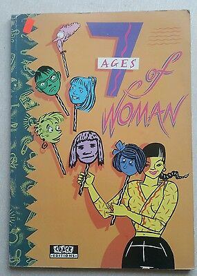 7 Ages of Woman Graphic Novel