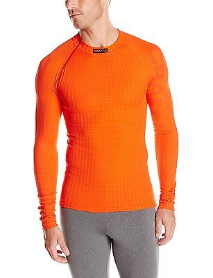Craft Mens Active Extreme Crewneck Tee, Spice Magma, Small