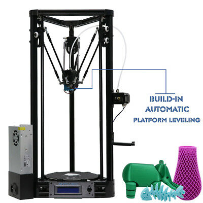 Anycubic Newest Kossel 3D Printer unassemble Pulley Version DIY Big Printed Size