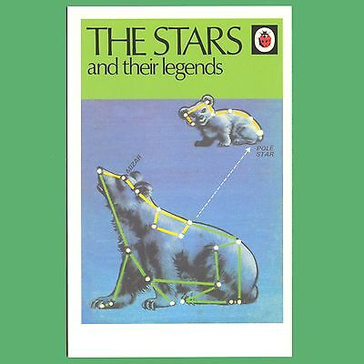 The Stars And Their Legends - Ladybird Book Cover Postcard