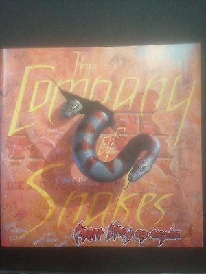 Company of Snakes signed autographed CD Whitesnake