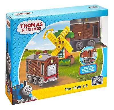 Thomas The Tank Engine And Friends Mega Bloks Buildable Engines Toby Cnj07 *new*