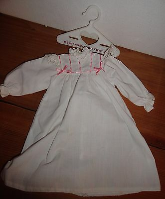 Vintage American Girl Historical Doll Samantha nightgown & hanger
