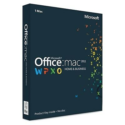 Licenza Microsoft Office 2011 For Mac Home And Business 32/64 License Esd Key