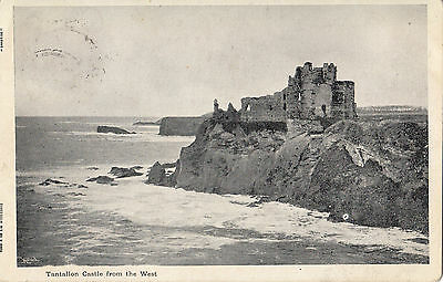 Vintage Postcard Of Tantallon Castle From The West Posted 1905