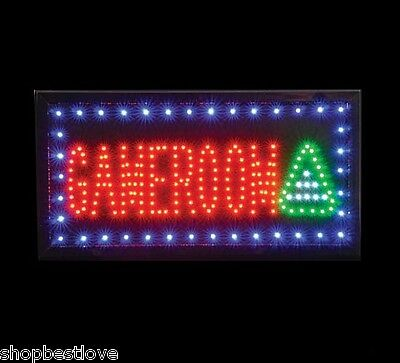 Game Room LED Lighted Sign [10in x 19in] (included wall power)