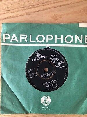 """The Beatles 45 rpm record - """"Can't Buy Me Love"""""""
