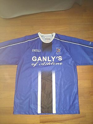 Athlone Town FC soccer shirt - L size - ireland