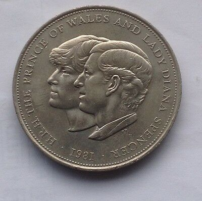 Prince Charles and Lady Diana Spencer wedding coin