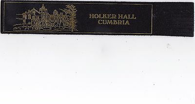 Leather Bookmark - Holker Hall, Cumbria.
