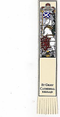 Leather Bookmark - St Giles' Cathedral, Edinburgh, Scotland.