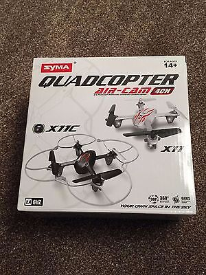 SYMA X11C Air RTF Mini Drone 360-degree 3D Helicopters - 2.4G 4CH 6 Axis 360 FPV