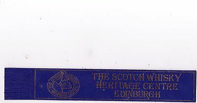Leather Bookmark - The Scotch Whisky Heritage Centre, Edinburgh.