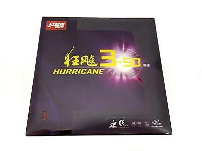 Genuine DHS HURRICANE 3-50 Table Tennis Rubber Ping Pong Sponge Red Color 2.10mm