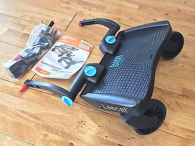 Lascal buggy board mini with all fittings and instructions - Hardly Used