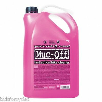 MUC OFF NANO BIODEGRADABLE BICYCLE BIKE CYCLE MOTORCYCLE CLEANER -5 Litre BOTTLE