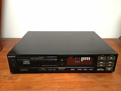 vintage lecteur CD SONY  CDP-35  Compact Disc Player 1986
