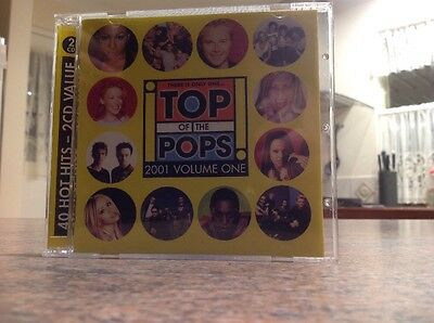 Top Of The Pops 2001 Volume One Cd. 2 Disks