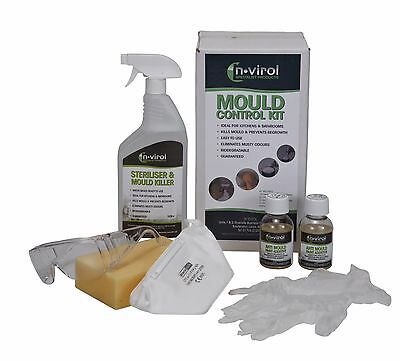 BLACK MOULD REMOVAL CLEANING CONTROL KIT,WALLS,CEILINGS,Window/Door Frames,UPVC