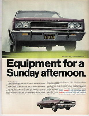 1967 Amc Rebel Sst 343  ~  Great Muscle Car Ad