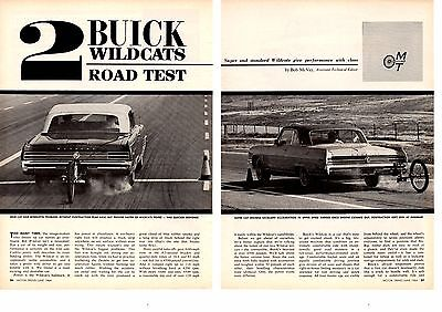 1964 Buick Wildcat 401/325-Hp  ~  Original 6-Page Road Test / Article / Ad