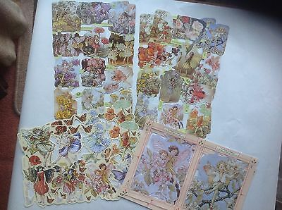 Flower Fairies Scraps Sheets Clearout 8 Sheets