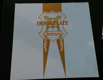 Madonna-The immaculate collection (Ex) Gatefold complete with poster & postcards