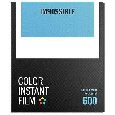 IMPOSSIBLE PROJECT Color Film for Polaroid 600 Type cameras - Free Delivery