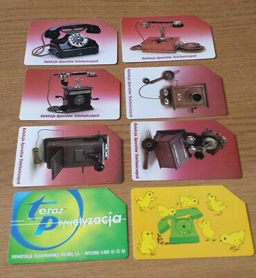 Used phonecards from Poland