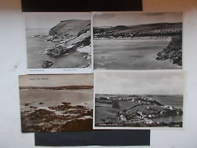 four real photo Cornwall cards inc Portmellon