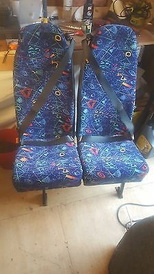 3 x Double Mini Bus Seats