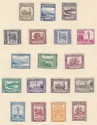 Paraguay 1943 - 47     3Pages  Various Values  Part Sets    Mh & Used