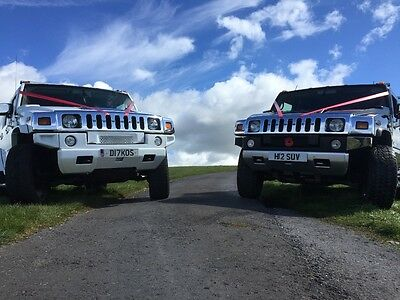Wedding Car Hire £600 for the TWO (Biggest in the North) His and Hers H2