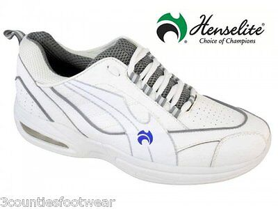 Henselite Mens Tiger Sports Lawn Bowls Trainers - TIGER LAWN BOWLS SHOES