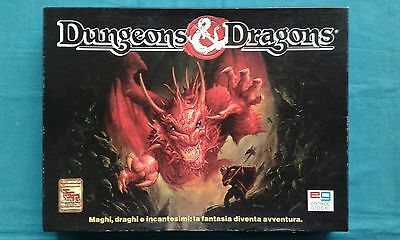 Dungeons & Dragons Set Base Completo Editrice Giochi 1991 +++Ottimo+++