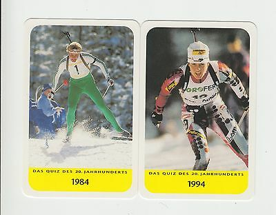 Skiing : Biathlon : German card group