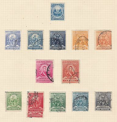 Peru 1897 - 05      2Pages  Various Values  Part Sets  O/prints  Mh & Used
