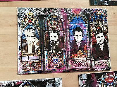 Duran Duran Stained Glass Christmas Cards Set