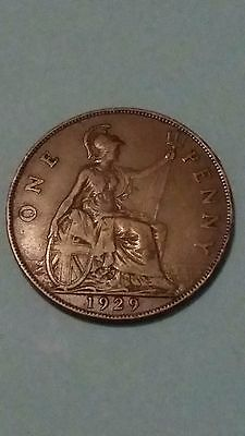 Great Britain Penny 1929