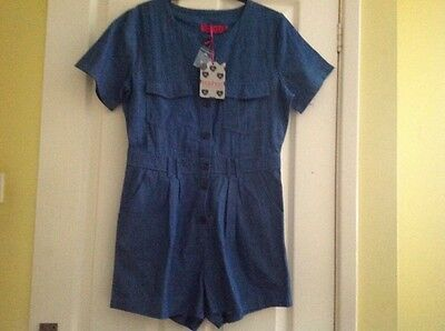 boo hoo playsuit size 12 new with tags