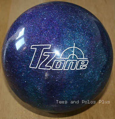 "12lb Brunswick ""Deep Space"" Polyester T-Zone Tenpin Bowling Ball"