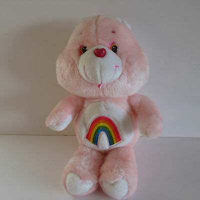 "Care Bear - Vintage 1983 Original 13"" Cheer Bear Soft/plush - Tonka"