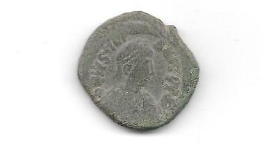 Ancient Byzantine Coin -  Justinian I - Follis (Anc- 633)
