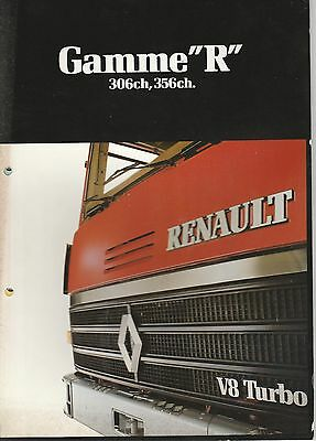 Div8 Renault Gamme R 1981