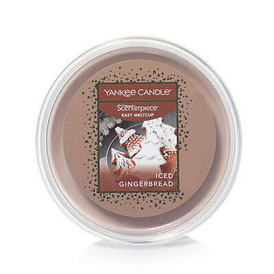 (12) Yankee Candle Scenterpiece Easy MeltCups ICED GINGERBREAD RETAIL $60.00