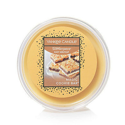 (5)Yankee Candle Scenterpiece Easy MeltCups MAGIC COOKIE BAR