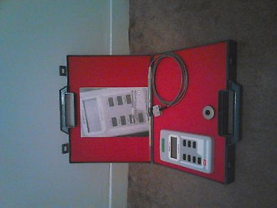Hirst Magnetic Instruments Gauss Meter Vgc, Complete With Protective Case